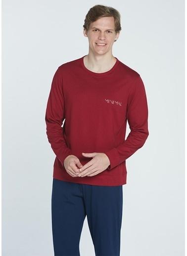 Take It Easy Pijama Takım Kırmızı
